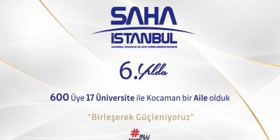 SAHA İstanbul, 6'ncı yılda 661 üyeye ulaştı
