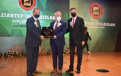 SAHA İstanbul'a Gaziantep Sanayi Odasından İşbirliği Ödülü