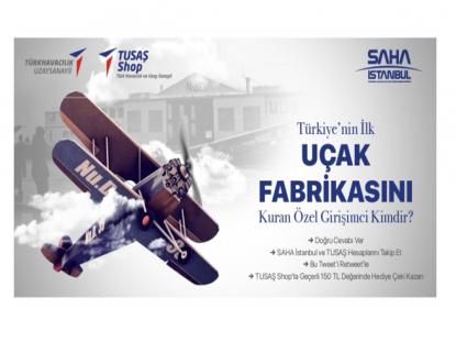 SAHA İSTANBUL / TUSAŞ Ödüllü Sosyal Medya Yarışması